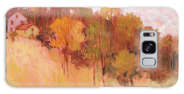 Hillside Trees Galaxy Case