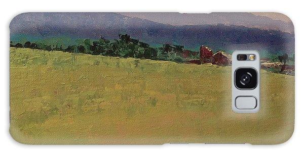Hilltop Farm Galaxy Case by Gail Kent