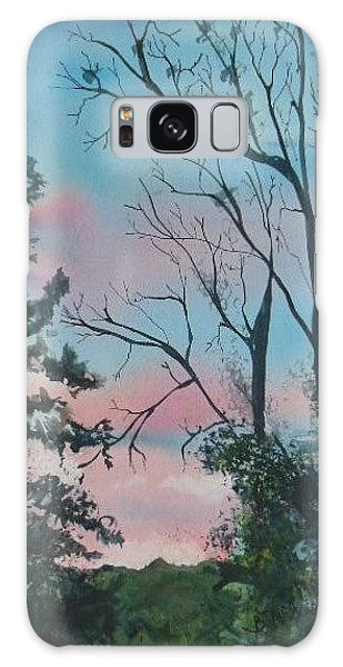 Hilltown Sunset Galaxy Case