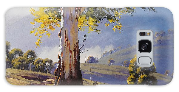 Realistic Galaxy Case - Hilly Australian Landscape by Graham Gercken