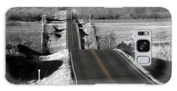 Hilly Ride Galaxy Case by Brian Duram