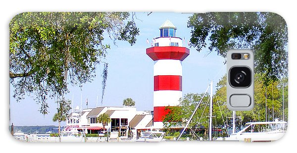 Hilton Head Lighthouse And Marina Galaxy Case