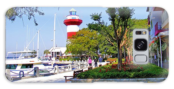Hilton Head Lighthouse Galaxy Case