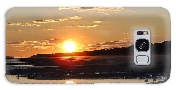 Hilton Head Sunset Galaxy Case by Cindy Croal