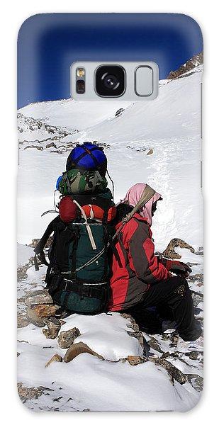 Himalayan Porter, Nepal Galaxy Case