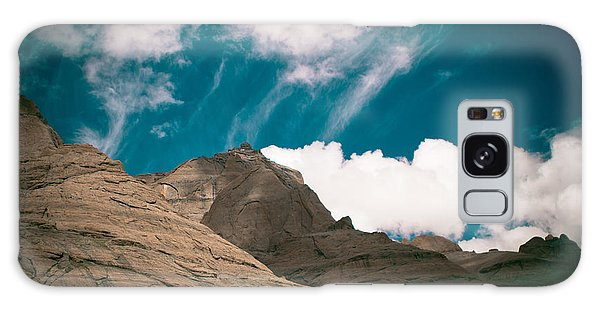 Himalyas Mountains In Tibet With Clouds Galaxy Case
