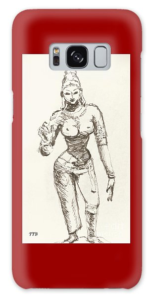 Hindu Goddess Sivakami Galaxy Case