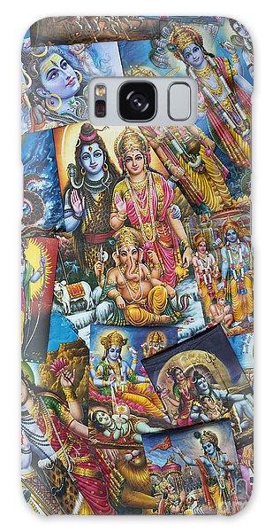 Hindu Deity Posters Galaxy Case