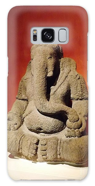 Hindu Statue God Ganesha Galaxy Case