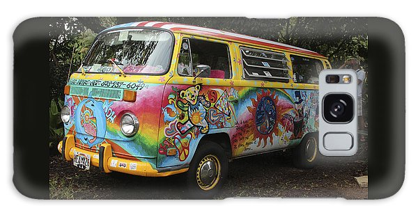 Vintage 1960's Vw Hippie Bus Galaxy Case