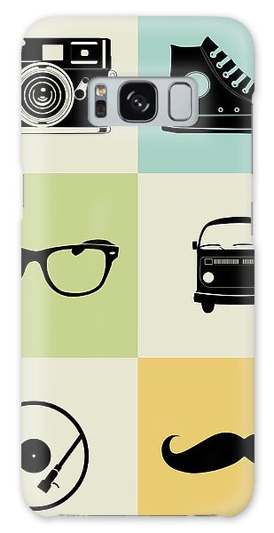 Comical Galaxy Case - Hipster Mix Poster by Naxart Studio