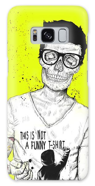Glass Galaxy Case - Hipsters Not Dead by Balazs Solti