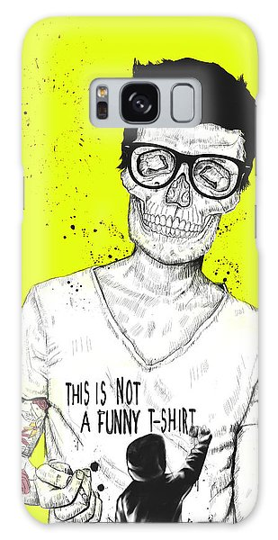 Funny Galaxy Case - Hipsters Not Dead by Balazs Solti