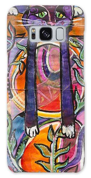 His Own World Galaxy Case by Leela Payne