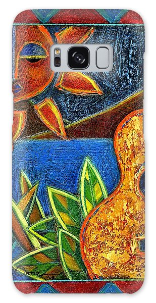 Galaxy Case featuring the painting Hispanic Heritage by Oscar Ortiz