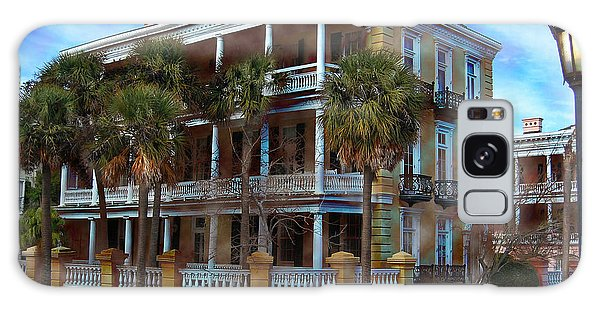 Historic Charleston Mansion Galaxy Case by Kathy Baccari