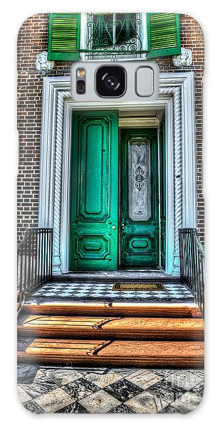 Historic Charleston Sc Door Galaxy Case