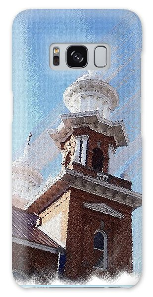 Historic Church Steeples Galaxy Case