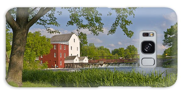 Historic Flour Mill By A River Galaxy Case
