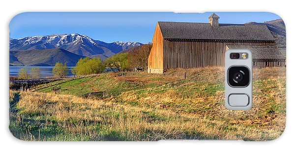 Historic Francis Tate Barn - Wasatch Mountains Galaxy Case