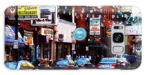 Historic Greek Town Detroit Michigan Galaxy Case