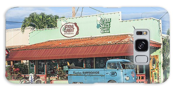 Historic Haleiwa Surf Town On The North Shore Of Oahu Galaxy Case