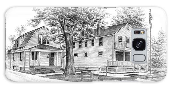 Historic Jaite Mill - Cuyahoga Valley National Park Galaxy Case by Kelli Swan