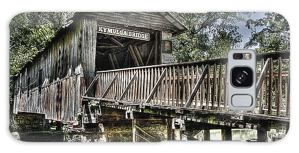 Historic Kymulga Covered Bridge Galaxy Case