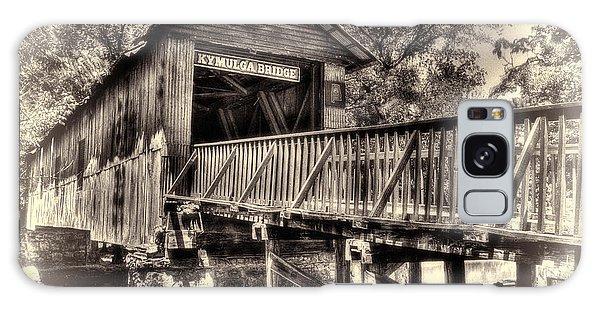 Historic Kymulga Covered Bridge Toned Galaxy Case