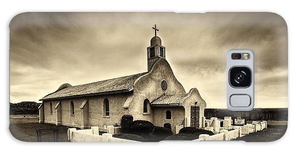 Historic Old Adobe Spanish Style Catholic Church San Ysidro New Mexico Galaxy Case by Jerry Cowart