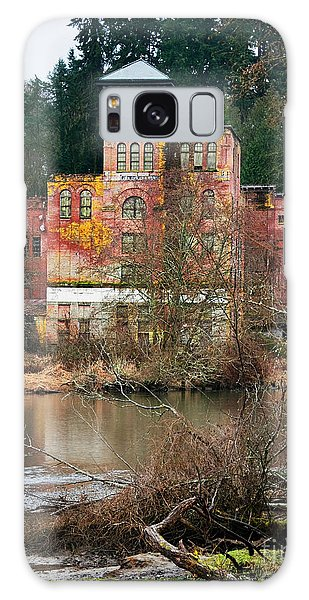 Historic Old Brewery By Creek Galaxy Case