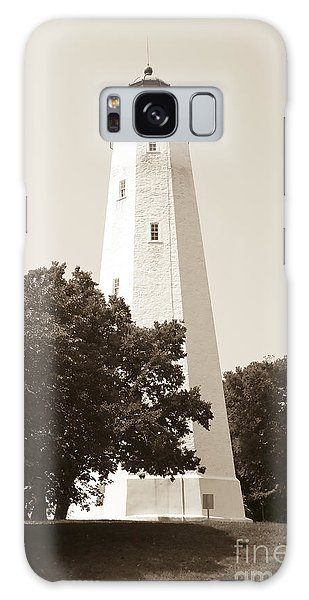 Historic Sandy Hook Lighthouse Galaxy Case