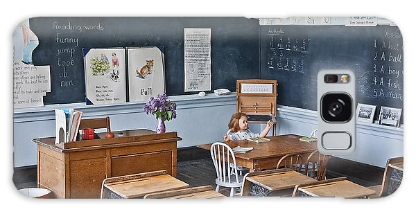 Historic School Classroom Art Prints Galaxy Case