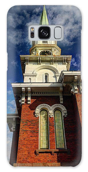 Historic Steeple Galaxy Case by Linda Edgecomb