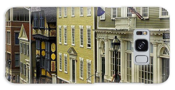 Historic Street In Providence Ri Galaxy Case by Nancy De Flon