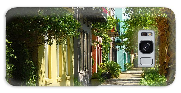 Historic Streets Urban Charleston South Carolina Galaxy Case