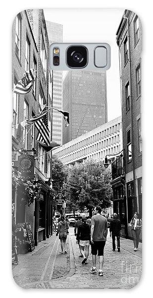 Historic Union Street Boston Ma Galaxy Case