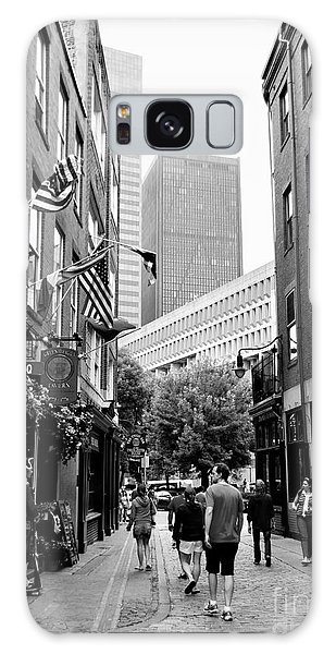 Historic Union Street Boston Ma Galaxy Case