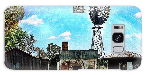 Historic Village Of Jandowae Galaxy Case by Therese Alcorn