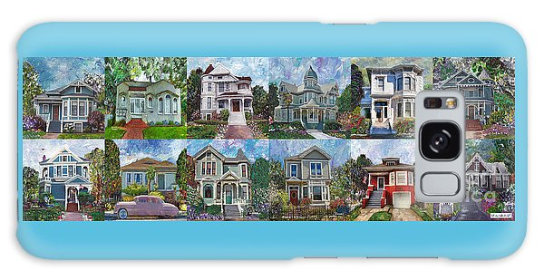 Historical Homes Galaxy Case by Linda Weinstock