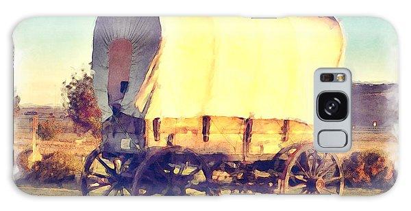 Hitch Your Wagon Galaxy Case