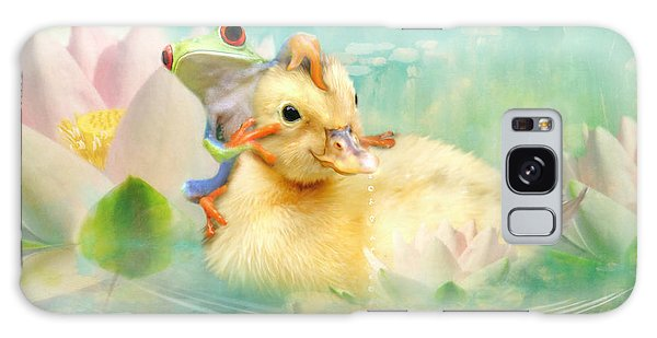Hitching A Ride Galaxy Case by Trudi Simmonds