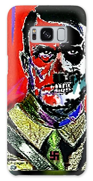 Hitler  - The  Face  Of  Evil Galaxy Case by Hartmut Jager