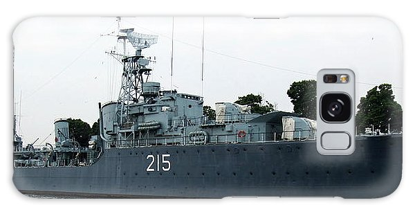 Hmcs Haida Twin Gun Tribal Class Destroyer  Galaxy Case