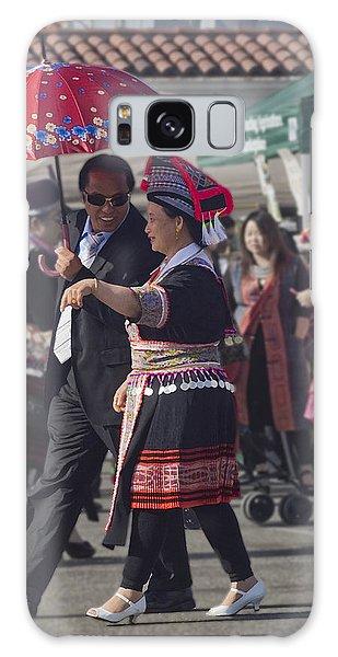 Hmong Couple Galaxy Case