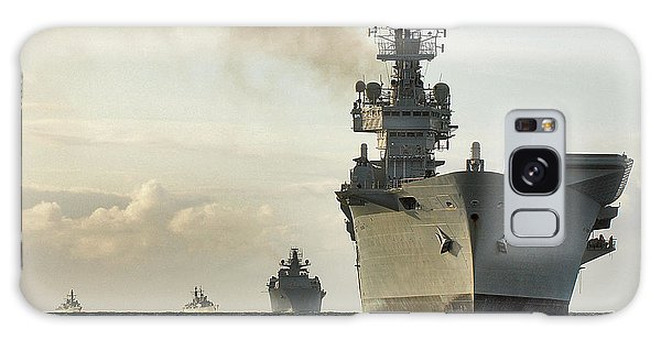 Hms Ark Royal  Galaxy Case by Paul Fearn