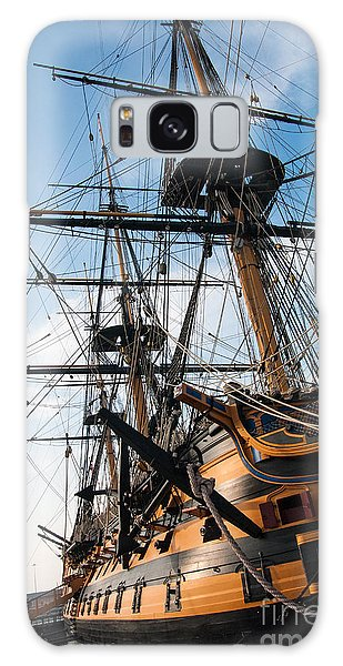 Hms Victory In Portsmouth Dockyard Galaxy Case