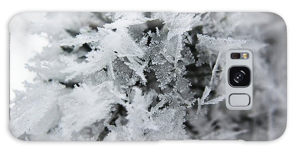 Hoar Frost In November Galaxy Case