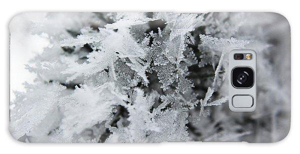Hoar Frost In November Galaxy Case by Ryan Crouse
