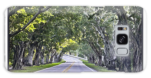 Hobe Sound Fl-bridge Street Banyans Galaxy Case